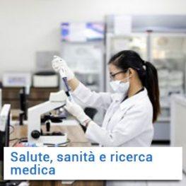 Salute, sanità e ricerca medica
