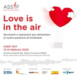 Assif Day 2020: Love is in the air. Aperte le iscrizioni