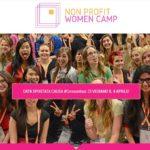 Non Profit Women Camp: al via il 1° evento europeo dedicato al Non Profit al femminile